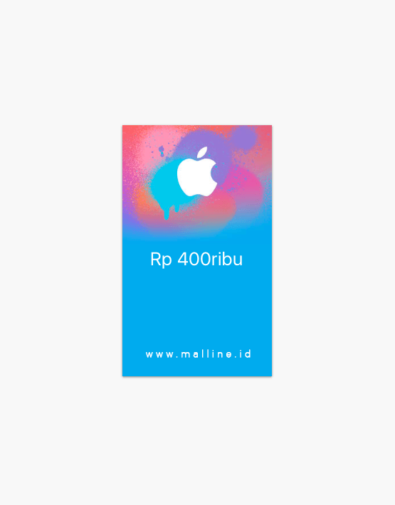 malline. Discount! Home / E-Voucher / iTunes Rp. 400.000