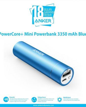 SKU : A1104H31 PowerCore Portable Mini Charger. Sebuah pengisi daya, ada di telapak tangan Anda. PowerIQ Mendeteksi perangkat Anda. Memberikan Pengisian tercepat. Eksklusif untuk Anker, PowerIQ adalah teknologi penyesuai Ampere cerdas yang dapat mengidentifikasi perangkat Anda untuk memberikan Pengisian tercepat sesuai kemampuan perangkat.