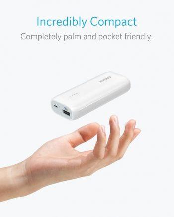 Astro E1 Portable Charger Baterai Eksternal Power Bank Isi daya ponsel Anda saat bepergian. Dari ANKER, Merek Pengisi USB Terkemuka di Amerika • 10 juta + pengguna senang dan menghitung • Pengisian lebih cepat dan lebih aman dengan teknologi canggih kami