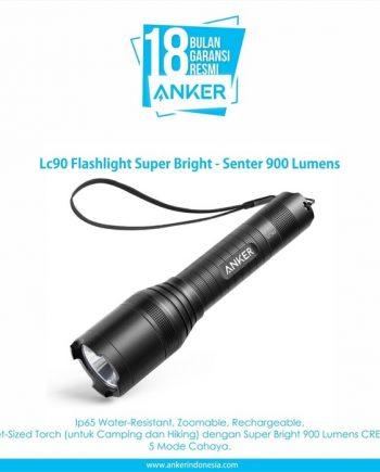 Anker LC90 Flashlight Super Bright - Senter 900 Lumens [T1420H11]