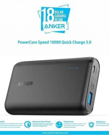 Powercore Speed 10000 QC menggabungkan 3 teknologi pengisian cepat untuk memastikan bahwa setiap Pengisian perangkat dalam waktu sesingkat mungkin. Tidak pernah khawatir lagi tentang tidak memiliki waktu untuk mengisi perangkat.