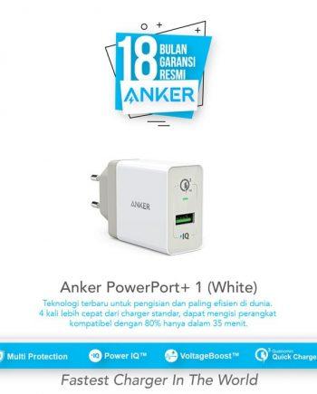 SKU : A2013L21 Qualcomm Quick Charge 3.0 Dengan perangkat yang kompatibel Charging hingga 80% dalam waktu 35 menit.