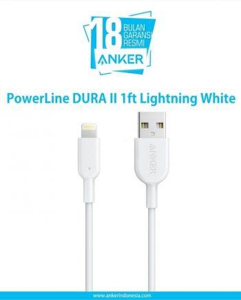 PowerLine DURA II 1ft Lightning White A8431021