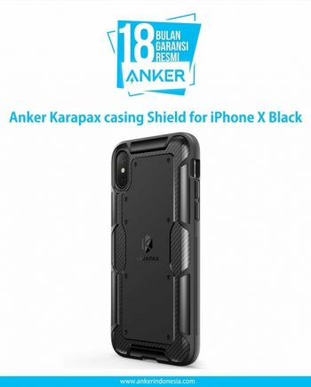 Anker Karapax casing Shield for iPhone X Hitam A9007H11