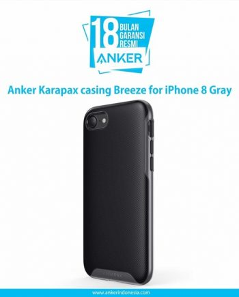 Anker Karapax casing Breeze for iPhone 8 Gray A9014HA1