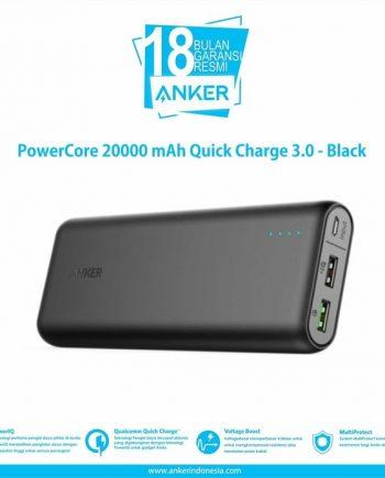 SKU : A1272H11 Quick Charge 3.0 Hingga 4x lebih cepat dari charger standar, mampu mengisi daya perangkat yang kompatibel hingga 80% hanya dalam 35 menit. Backwards kompatibel dengan semua versi Qualcomm Quick Charge.
